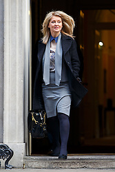 © licensed to London News Pictures. London, UK 18/03/2015. Esther McVey attending to a cabinet meeting in Downing Street on the Budget Day, Wednesday, 18 March 2015. Photo credit: Tolga Akmen/LNP
