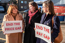Pictured: Christine Jardine, Emma Walker, Mental Health Spokesperson and Jenny Marr Candidate for Berwickshire, Roxburgh and Selkirk.<br />