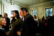 FIONA BANNER; NICK ROSEN, The Multiple Store print launch. st. Barnabus. Soho Sq. London. 20 April 2009.<br /> FIONA BANNER; NICK ROSEN, The Multiple Store print launch. st. Barnabus. Soho Sq. London. 20 April 2009.  *** Local Caption *** -DO NOT ARCHIVE-© Copyright Photograph by Dafydd Jones. 248 Clapham Rd. London SW9 0PZ. Tel 0207 820 0771. www.dafjones.com.