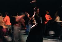 "Frankfurt Ballet in choreographer, William Forsythe's ""Eidos:Telos"""