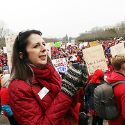 Patty Wentz, OEA.<br /><br />Thousands of educators and their supporters from all over the state gather at the Oregon State Capitol to rally for adequate school funding. A select group of teachers and staff members spoke to Gov. Kate Brown about their experiences, and shared with her the challenges of being a teacher today.<br /><br />Photography by Thomas Patterson.
