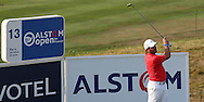 Francesco Molinari (ITA)Francesco Molinari drives from the 13th during Round One of the 2015 Alstom Open de France, played at Le Golf National, Saint-Quentin-En-Yvelines, Paris, France. /02/07/2015/. Picture: Golffile | David Lloyd<br /> <br /> All photos usage must carry mandatory copyright credit (© Golffile | David Lloyd)