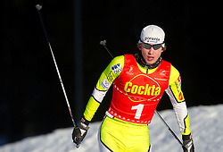 Marjan Jelenko of SSK Velenje during cross country race for Slovenian National Nordic combined Championship, on January 5, 2011 at Rudno polje, Pokljuka, Slovenia. (Photo by Vid Ponikvar / Sportida.com)