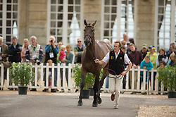 Constantin Van Rijckevorsel, (BEL), Goodwins Reef - First Horse Inspection  - Alltech FEI World Equestrian Games™ 2014 - Normandy, France.<br /> © Hippo Foto Team - Shannon Brinkman<br /> 25/06/14