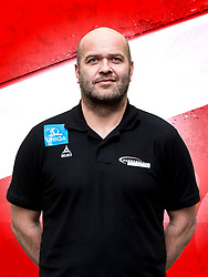 26.10.2018, Raiffeisen Sportpark, Graz, AUT, ÖHB, Fototermin Herren Nationalteam, im Bild Trainer Patrekur Johannesson (AUT) // during a Portrait Photoshoot of the Austrian men' s handball National Team at the Raiffeisen Sportpark, Graz, Austria on 2018/10/26. EXPA Pictures © 2018, PhotoCredit: EXPA/ Sebastian Pucher