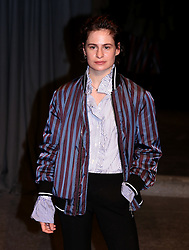Heloise Letissier, aka Christine and the Queens attending the Burberry London Fashion Week Show at Makers House, Manette Street, London.