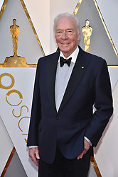 Christopher Plummer walking the red carpet as arriving for the 90th annual Academy Awards (Oscars) held at the Dolby Theatre in Los Angeles, CA, USA, on March 4, 2018. Photo by Lionel Hahn/ABACAPRESS.COM