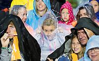 AMSTERDAM - AMSTELVEEN - tijdens de regen Rabo EuroHockey Championships 2017, Hockey, Seizoen 2016-2017, 05-06-14, EK 2017 Amsterdam, Wagener Stadion Amsterdam, Dames, Women, Nederland - Spanje . COPYRIGHT KOEN SUYK