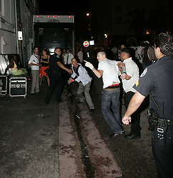 Linkin Park's Chester Bennington get into a scuffle outside Mansion Nightclub in Miami Beach on August 28, 2005 in Sunny Isles Beach, Florida. 28 Aug 2015 Pictured: Chester Bennington. Photo credit: TBA / MEGA TheMegaAgency.com +1 888 505 6342
