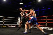 Boxen: x-mas Boxing, Hamburg, 22.12.2017<br /> Superweltergewicht: Sebastian Formella (GER) - Karlo Tabaghua (SWE)<br /> © Torsten Helmke