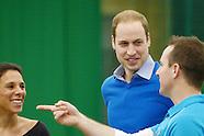 Prince William Duke of Cambridge visits Coach Core Project