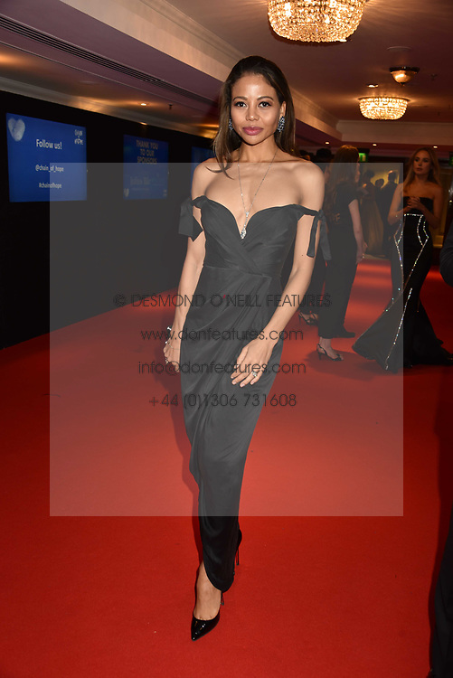 Viscountess Weymouth at the Chain of Hope Gala Ball held at the Grosvenor House Hotel, Park Lane, London England. 17 November 2017.<br /> Photo by Dominic O'Neill/SilverHub 0203 174 1069 sales@silverhubmedia.com