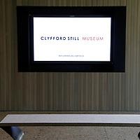 USA, Colorado, Denver. Clyfford Still Museum Lobby.