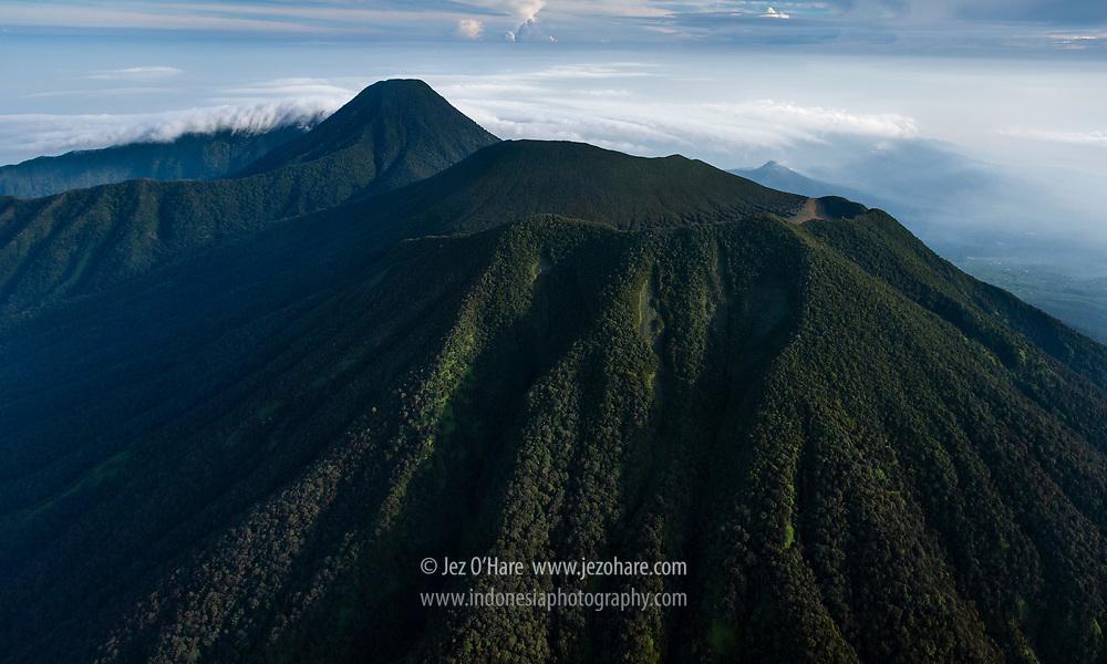 South East face of Mount Gede-Pangrango, Sukabumi-Cianjur, West Java, Indonesia.