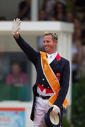 Carl Hester (GBR)<br /> Silver Medal Kür to Music<br /> European Championships Dressage - Rotterdam 2011<br /> © Dirk Caremans