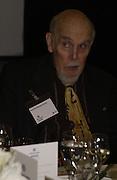 PROF SIR BERNARD CRICK, Political Studies Association awards, 2005. Institute of Directors. Pall Mall. London. 29 November 2005. ONE TIME USE ONLY - DO NOT ARCHIVE  © Copyright Photograph by Dafydd Jones 66 Stockwell Park Rd. London SW9 0DA Tel 020 7733 0108 www.dafjones.com