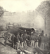 Sherman saw that in order to take Atlanta without terrific loss he must cut off all its rail communications from the book ' The Civil war through the camera ' hundreds of vivid photographs actually taken in Civil war times, sixteen reproductions in color of famous war paintings. The new text history by Henry W. Elson. A. complete illustrated history of the Civil war