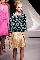 Sasha Pivovarova walks the runway  at the Christian Dior Cruise Collection 2008 Fashion Show