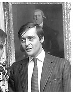 Duke of Westminster. 13/12/83© Copyright Photograph by Dafydd Jones 66 Stockwell Park Rd. London SW9 0DA Tel 020 7733 0108 www.dafjones.com