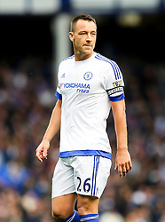 Chelsea Captain, John Terry  - Mandatory byline: Matt McNulty/JMP - 07966386802 - 12/09/2015 - FOOTBALL - Goodison Park -Everton,England - Everton v Chelsea - Barclays Premier League