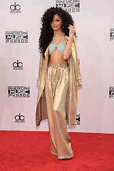 Nov. 23, 2014 - Los Angeles, California, U.S. - ZENDAYA COLEMAN arrives for the 2014 American Music Awards at the Nokia theater. (Credit Image: © Lisa O'Connor/ZUMA Wire)