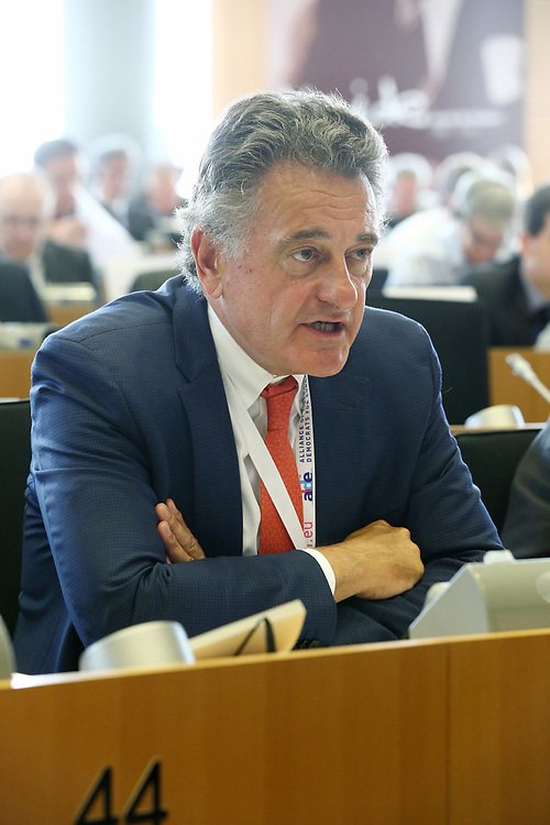 12 May 2017, 123rd Plenary Session of the European Committee of the Regions <br /> Belgium - Brussels - May 2017 <br /> <br /> Mr VANRAES Jean-Luc, Member of Uccle Municipal Council and President of the Public Welfare Centre ,OCMW/CPAS, Belgium<br /> <br /> © European Union / Patrick Mascart