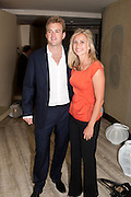 FREDDIE ANDREWS; HOLLY BRANSON; , The Tomodachi ( Friends) Charity Dinner hosted by Chef Nobu Matsuhisa in aid of the Unicef  Japanese Tsunami Appeal. Nobu Berkeley St. London. 5 May 2011. <br /> <br />  , -DO NOT ARCHIVE-© Copyright Photograph by Dafydd Jones. 248 Clapham Rd. London SW9 0PZ. Tel 0207 820 0771. www.dafjones.com.