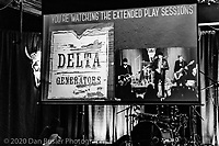 Delta Generators at The Extended Play Sessions in Norwood, MA on January 24, 2020.