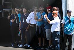 Leonardo Di Caprio at Formula E. Sam Bird wins historic New York ePrix. 16 Jul 2017 Pictured: Leonardo DiCaprio. Photo credit: MEGA TheMegaAgency.com +1 888 505 6342