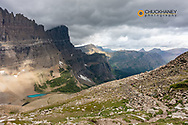 Hiking the Piegan Pass Trail in Glacier National Park, Montana, USA