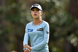 January 19, 2019 - Lake Buena Vista, FL, U.S. - LAKE BUENA VISTA, FL - JANUARY 19: Lydia Ko of New Zealand during the third round of the Diamond Resorts Tournament of Champions on January 19, 2019, at Tranquilo Golf Course at Fours Seasons Orlando in Lake Buena Vista, FL. (Photo by Roy K. Miller/Icon Sportswire) (Credit Image: © Roy K. Miller/Icon SMI via ZUMA Press)
