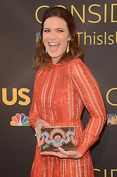 """LOS ANGELES, CA - AUGUST 14:  Mandy Moore at the FYC Event for 20th Century Fox and NBC's """"This Is Us"""" at Paramount Studios on August 14, 2017 in Los Angeles, California. (Photo by Scott Kirkland/PictureGroup)"""