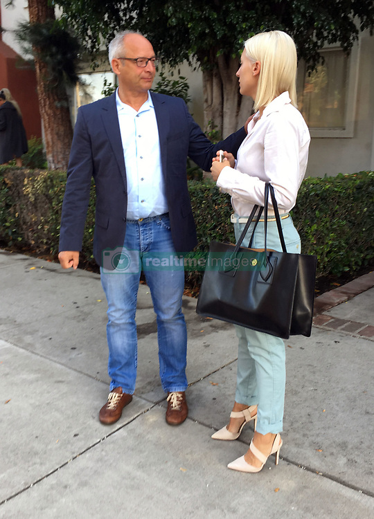 EXCLUSIVE: Mel B's ex nanny Lorraine Gilles seen leaving her home in Los Angeles heading to court with her father. 21 Jul 2017 Pictured: Mel B's ex nanny Lorraine Gilles seen leaving her home in Los Angeles heading to court with her father. Photo credit: STedesca / MEGA TheMegaAgency.com +1 888 505 6342