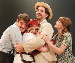 Swallows & Amazons - the Bristol Old Vic Production - <br /> a new musical by Helen Edmoundson and Neil Hannon<br /> based on a book by Arthur Ransome<br /> presented by the National Theatre in association with Children's Touring Partnership  <br /> <br /> Celia Adams (as Nancy Blackett)<br /> <br /> Akiya Henry (as Titty Walker)<br /> <br /> Richard Holt (as John Walker)<br /> <br /> Katie Moore (as Susan Walker)<br /> <br /> Sophie Waller (as Peggy Blackett)<br /> <br /> Stewart Wright (as Roger Walker)<br /> <br /> Greg Barnett (as Flint)<br /> <br /> Francesca Bradley<br /> <br /> Neal Craig (as Young Billy)<br /> <br /> Adrian Garratt (as Mr Jackson)<br /> <br /> Alsion George (as Pirate)<br /> <br /> Hilary Jones (as Mother)<br /> <br /> Jon Trechard (as Policeman)<br /> <br /> <br /> Photograph by Elliott Franks