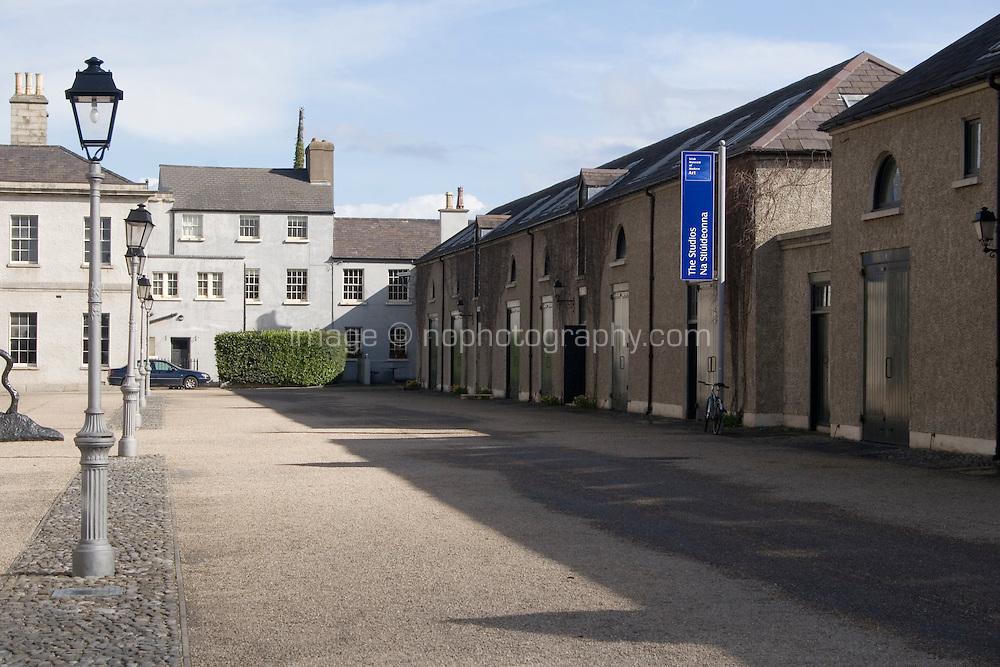 Artist studios at The Irish Museum of Modern Art Royal Hospital Kilmainham in Dublin Ireland
