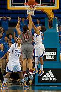 Womans Basketball, UCLA vs Washington State at UCLA, 2013.  Final score 77 UCLA, 52 Washington State.  ..Photo by Nathan Sweet..