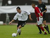 Football,  22. july 2002, Oslo. European under 19 Championship.  Germany v England 3-3. Piotr Artur Trochowski, Tyskland.
