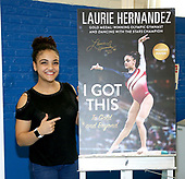 """Laurie Hernandez Signs Copies Of Her New Book """"I Got This To Gold And Beyond"""""""