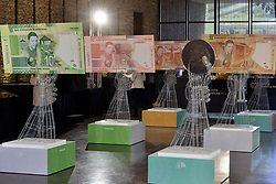 13/08/2018. The South African Reserve Bank launches the its first commemorative banknotes and a R5 coin at Freedom Park.<br /> Picture: Oupa Mokoena/African News Agency (ANA)