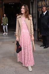 Alexa Cheung attending the Stella McCartney Fashion Show during Paris Fashion Week Womenswear Spring - Summer 2019 held in Paris, France on October 1, 2018. Photo by Julien Reynaud/APS-Medias/ABACAPRESS.COM