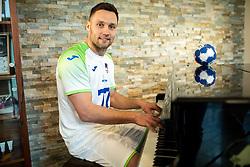 Luka Zvizej, former handball player of Slovenia posing for commercial of Rokometna simfonija 2019, on April 14, 2019, in Zrece, Slovenia. Photo by Vid Ponikvar / Sportida