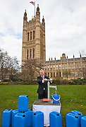 Ian Lavery MP. Marking World Water Day, over 40 MP's walked for water at Westminster, London at an event organised by WaterAid and Tearfund. Globally hundreds of thousands of people took part in the campaign to raise awareness of the world water crisis.