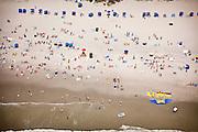 Aerial view of the Isle of Palms Beach Charleston, SC