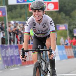 27-08-2020: Wielrennen: EK wielrennen: Plouay<br /> Annemiek Van Vleuten pakt haar eerste Europese Titel in Plouay
