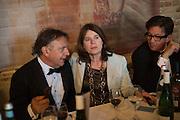 RAYMOND BLANC; LUCINDA BREDIN; FRANCESCO BOGLIONE, Opening of Grange Park Opera, Fiddler on the Roof, Grange Park Opera, Bishop's Sutton, <br /> Alresford, 4 June 2015
