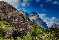 Looking towards the Three Sisters, Glencoe, Highlands of Scotland<br /> <br /> (c) Andrew Wilson | Edinburgh Elite media