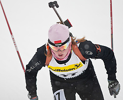 11.12.2010, Biathlonzentrum, Obertilliach, AUT, Biathlon Austriacup, Sprint Lady, im Bild Maryna Maskaleva (BLR, #47). EXPA Pictures © 2010, PhotoCredit: EXPA/ J. Groder
