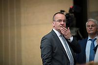 DEU, Deutschland, Germany, Berlin,22.09.2017: Niedersachsens Innenminister Boris Pistorius (SPD) vor einer Sitzung im Bundesrat.