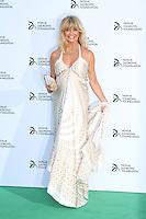Goldie Hawn, Novak Djokovic Foundation London gala dinner, The Roundhouse London UK, 08 July 2013, (Photo by Richard Goldschmidt)