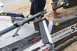 Boat details before Day 2 of the McDougall + McConaghy 2015 Moth Worlds, Sailing Anarchy and Sperry Top-Sider Moth Worlds coverage 2015, Sorrento, Australia. January 11th 2015. Photo © Sander van der Borch.